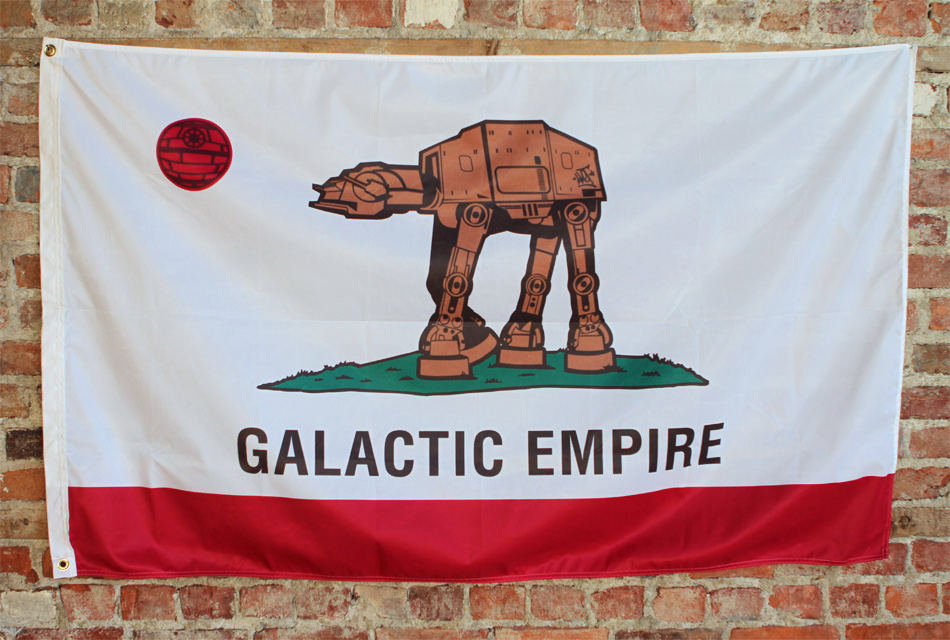 Sket One Art - Galactic Empire - Flag Edition