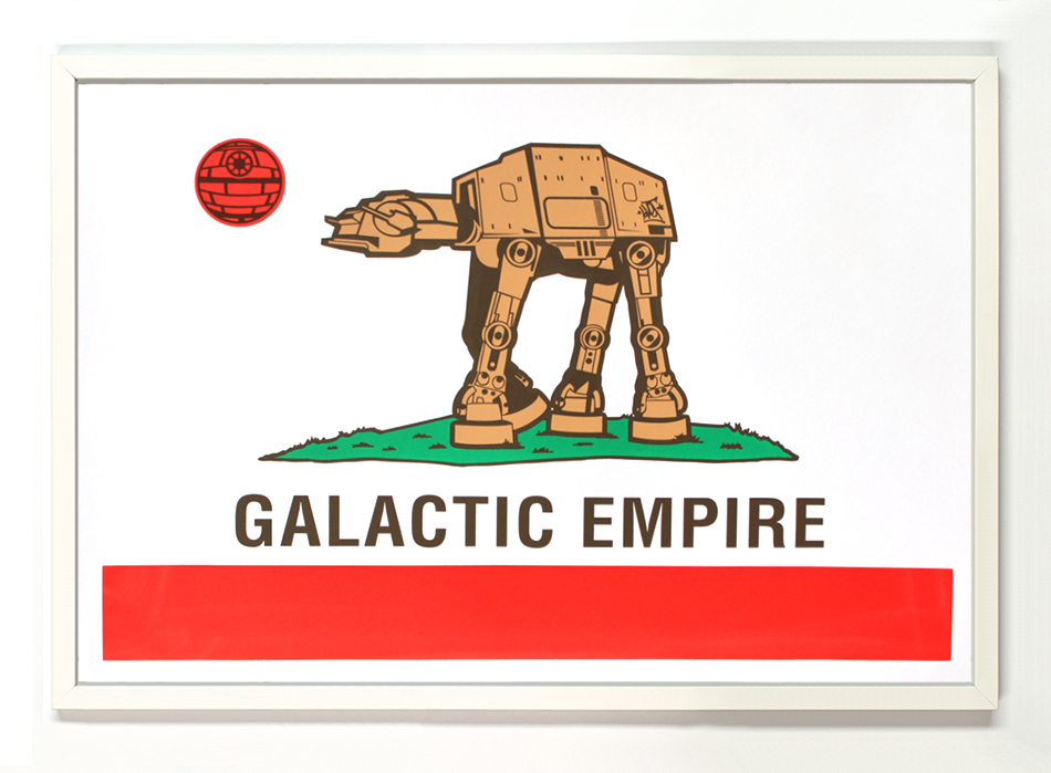 Sket One Art - Galactic Empire - Print Edition
