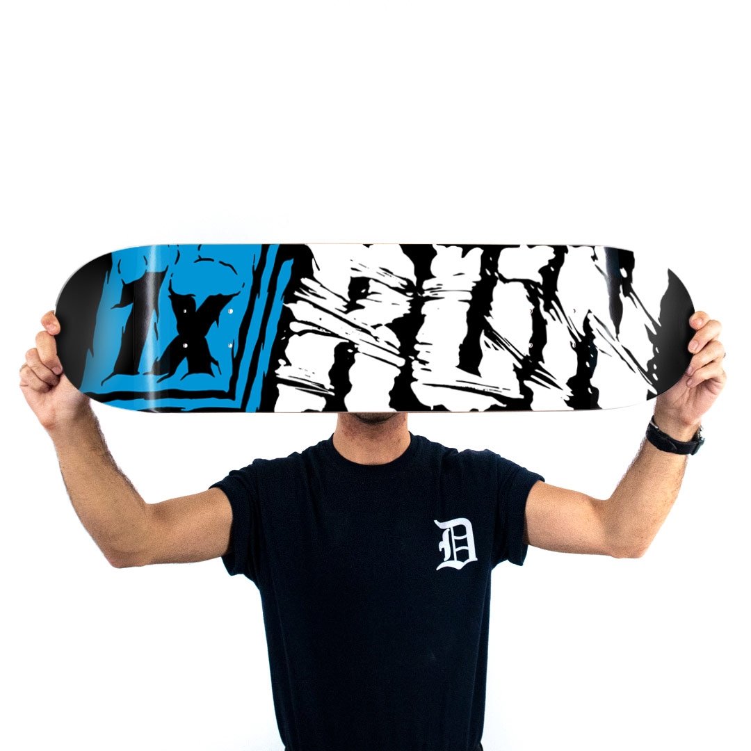 1xRUN Art Print - 1xRUN Logo by Askew - Skate Deck