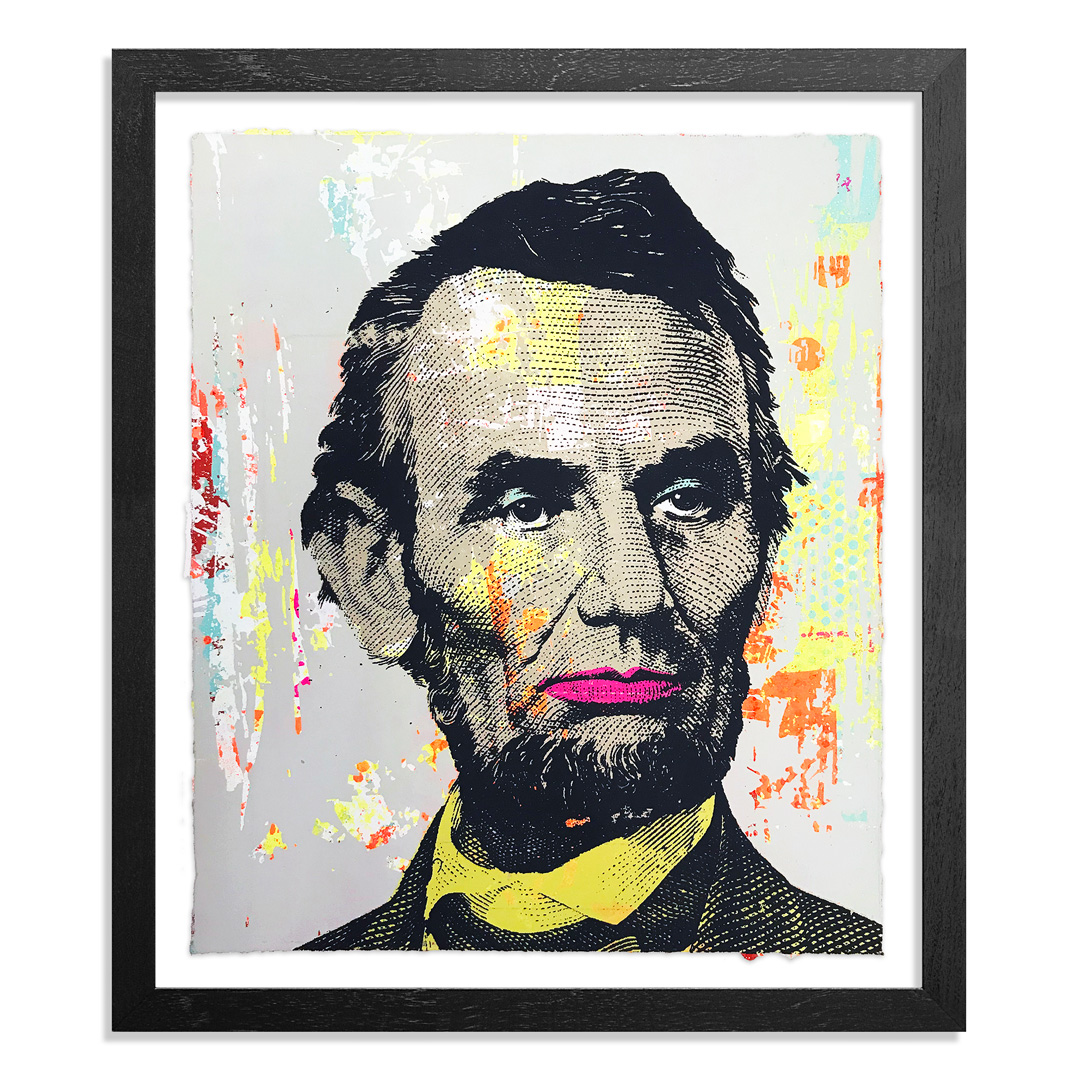 Greg Gossel Art Print - Honest Abe - 22