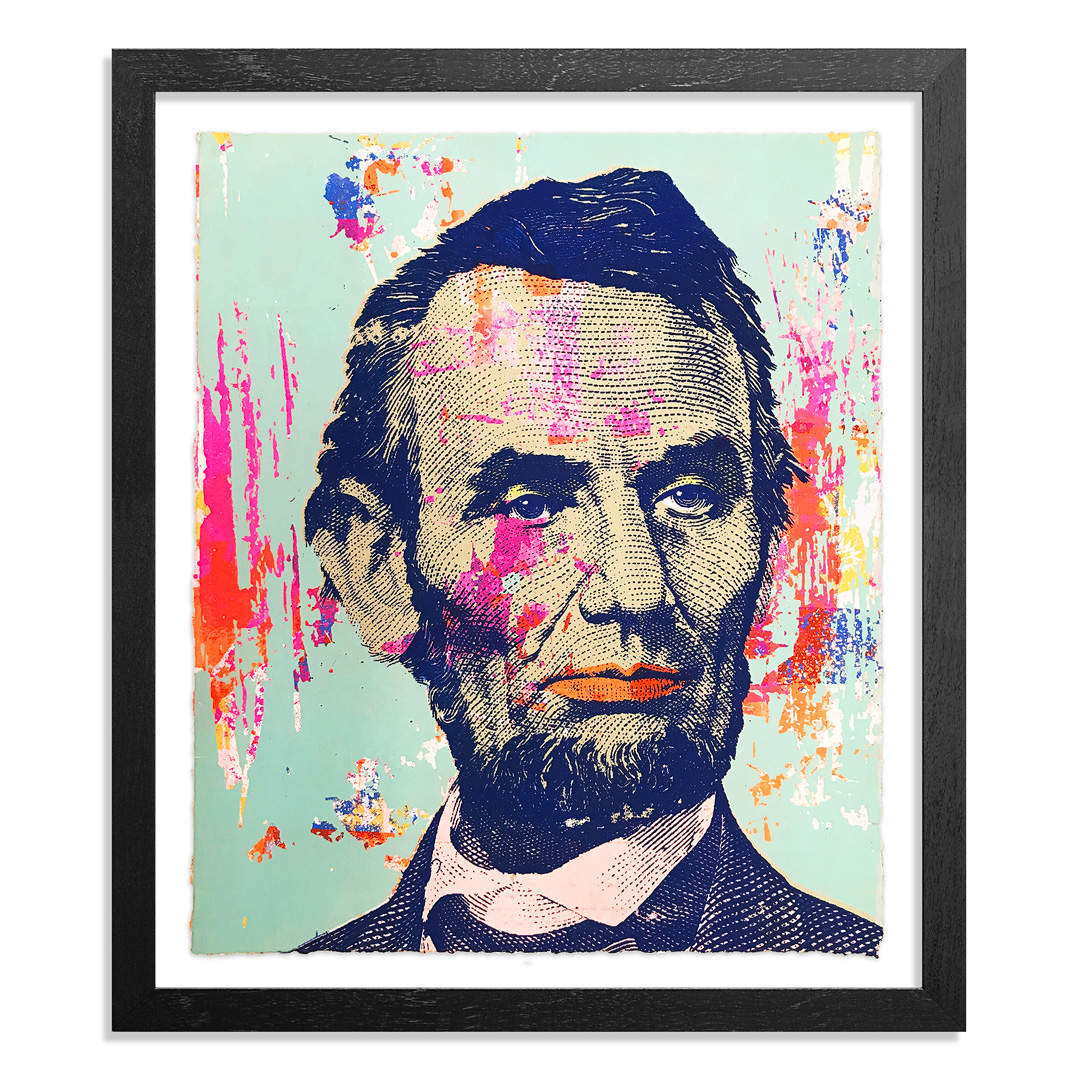 Greg Gossel Art Print - Honest Abe - 24
