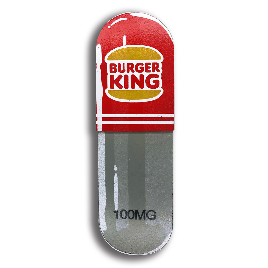 Denial Art - Burger King - Mini Pill
