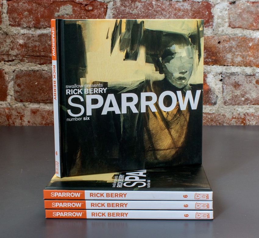 Swallow Presents: Sparrow Book - #6 Rick Berry