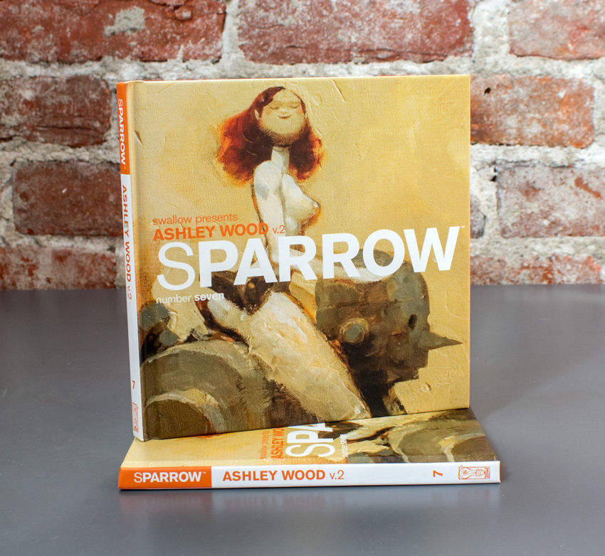 Swallow Presents: Sparrow Book - #7 Ashley Wood v2