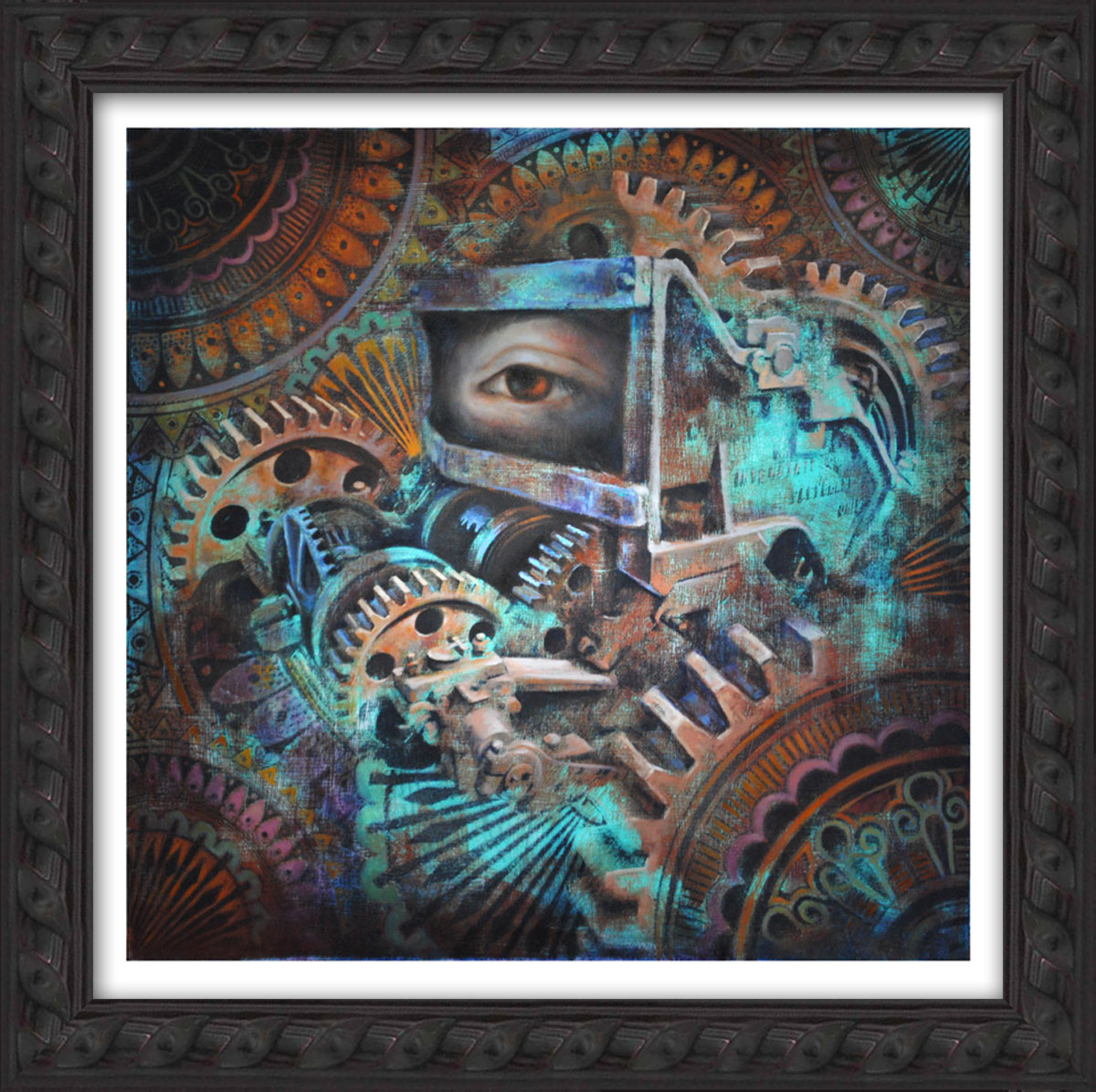 Beau Stanton Art Print - Mythos Mechanism - Framed