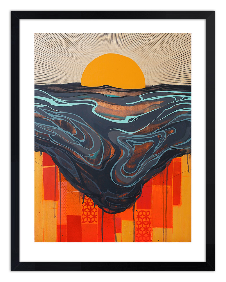Erik Otto Art Print - Chasing The Sun