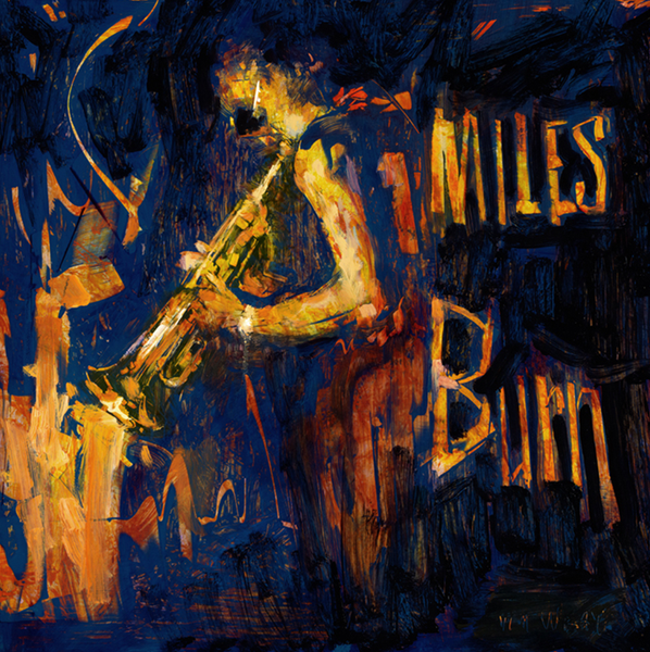 1xRUN Original Art - Miles Burn by William Wray