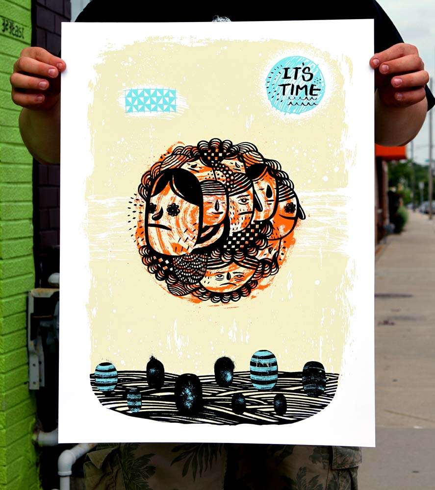 Ryan Bubnis Art Print - It's Time