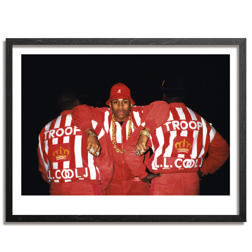 Ricky Powell Art Print - LL Cool J - Los Angeles 1988 - Fine Art Paper Edition