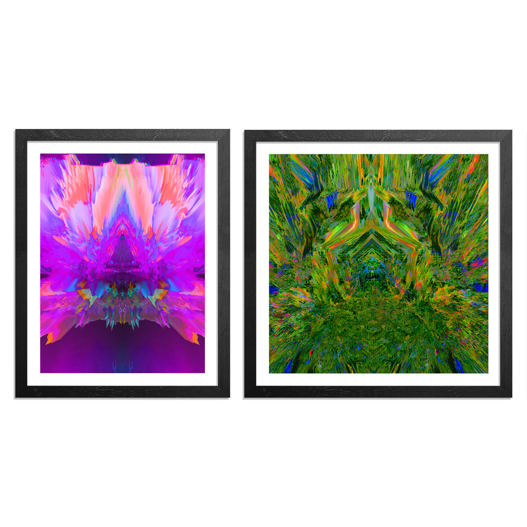 Ryan Doyle Art Print - 2-Print Set - #purplereign + #templeofboom