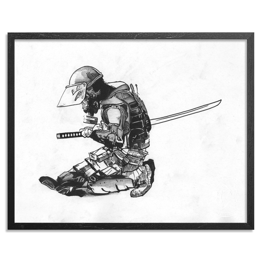 Abcnt Original Art - Seppuku - Original Sketch