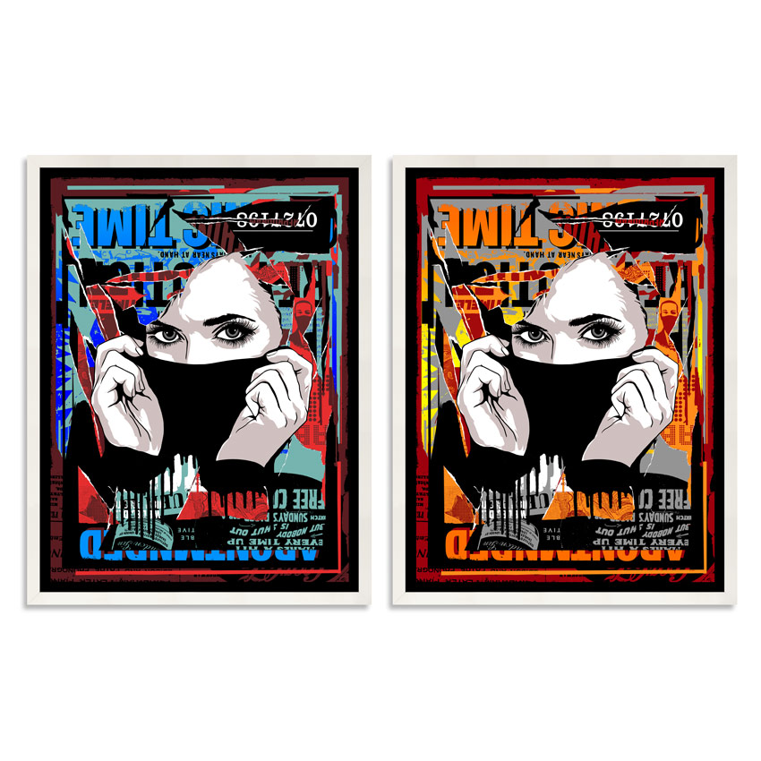 Abcnt Art Print - Time Out - Two Print Set