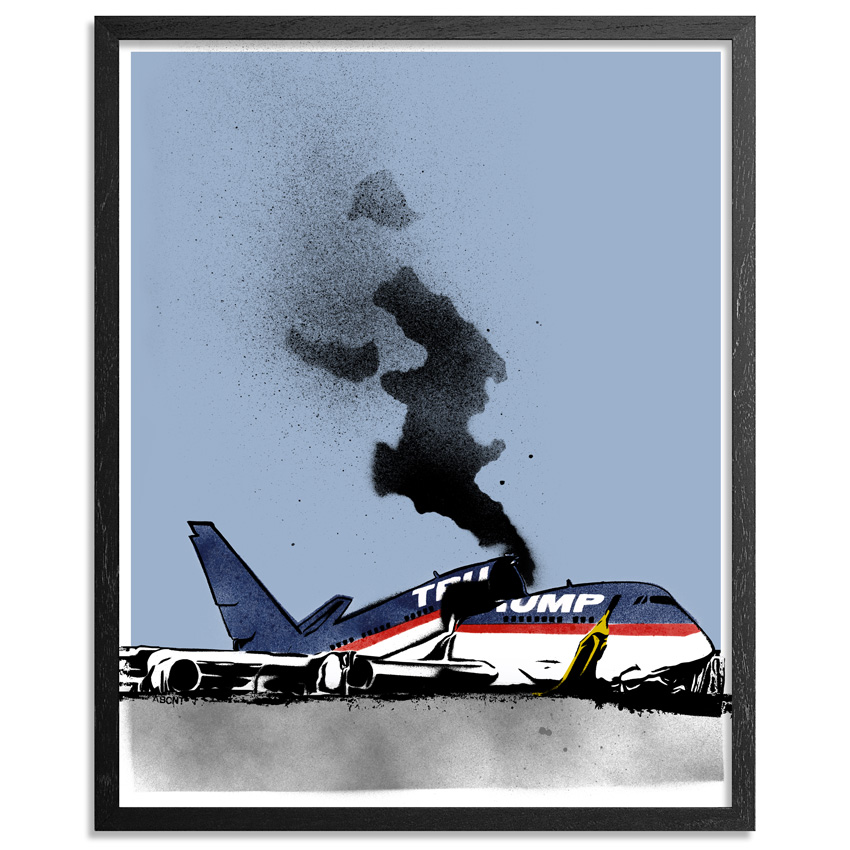 Abcnt Art Print - Travel Ban