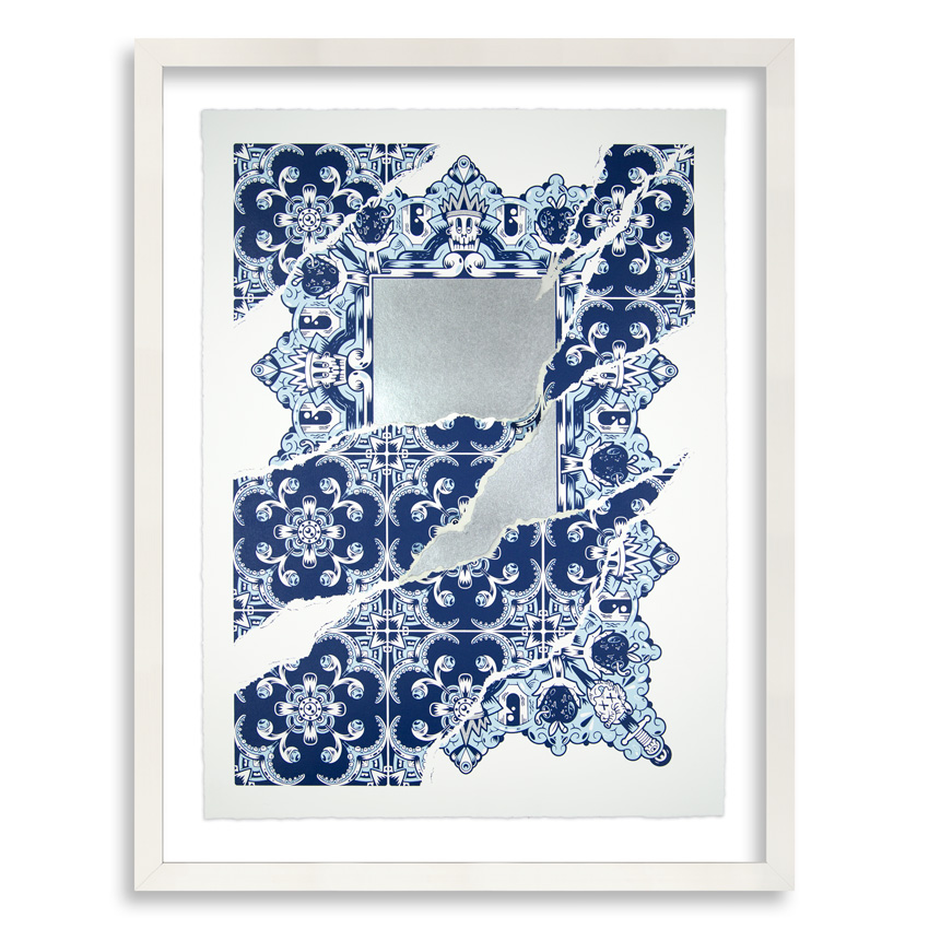 Add Fuel Art Print - Broken Mirror On The Wall - Standard Edition