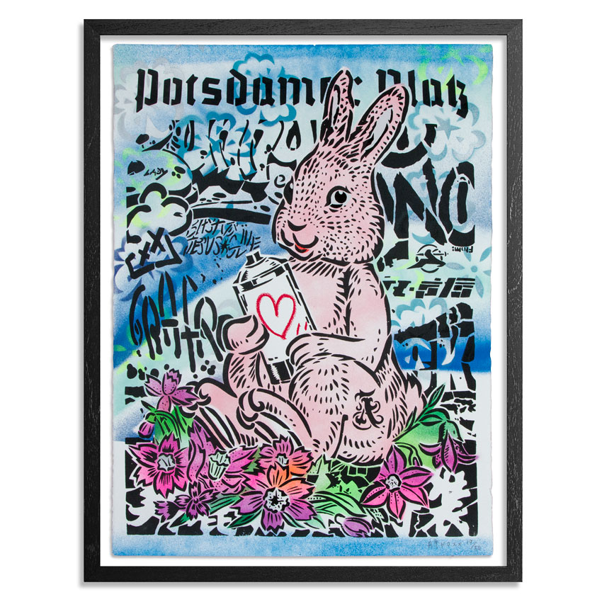 Aiko Art Print - Bunny With Love