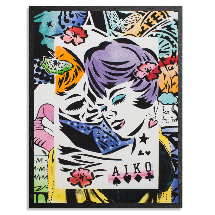 Aiko Art - Lovers - Hand-Embellished Edition
