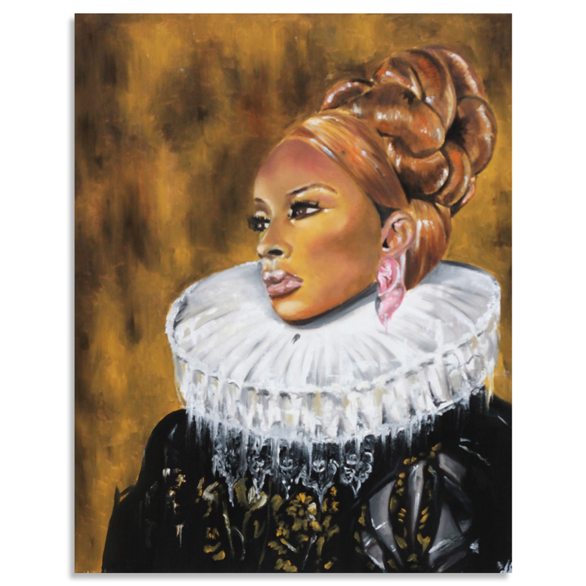 Amar Stewart Original Art - Mary J - Original Painting
