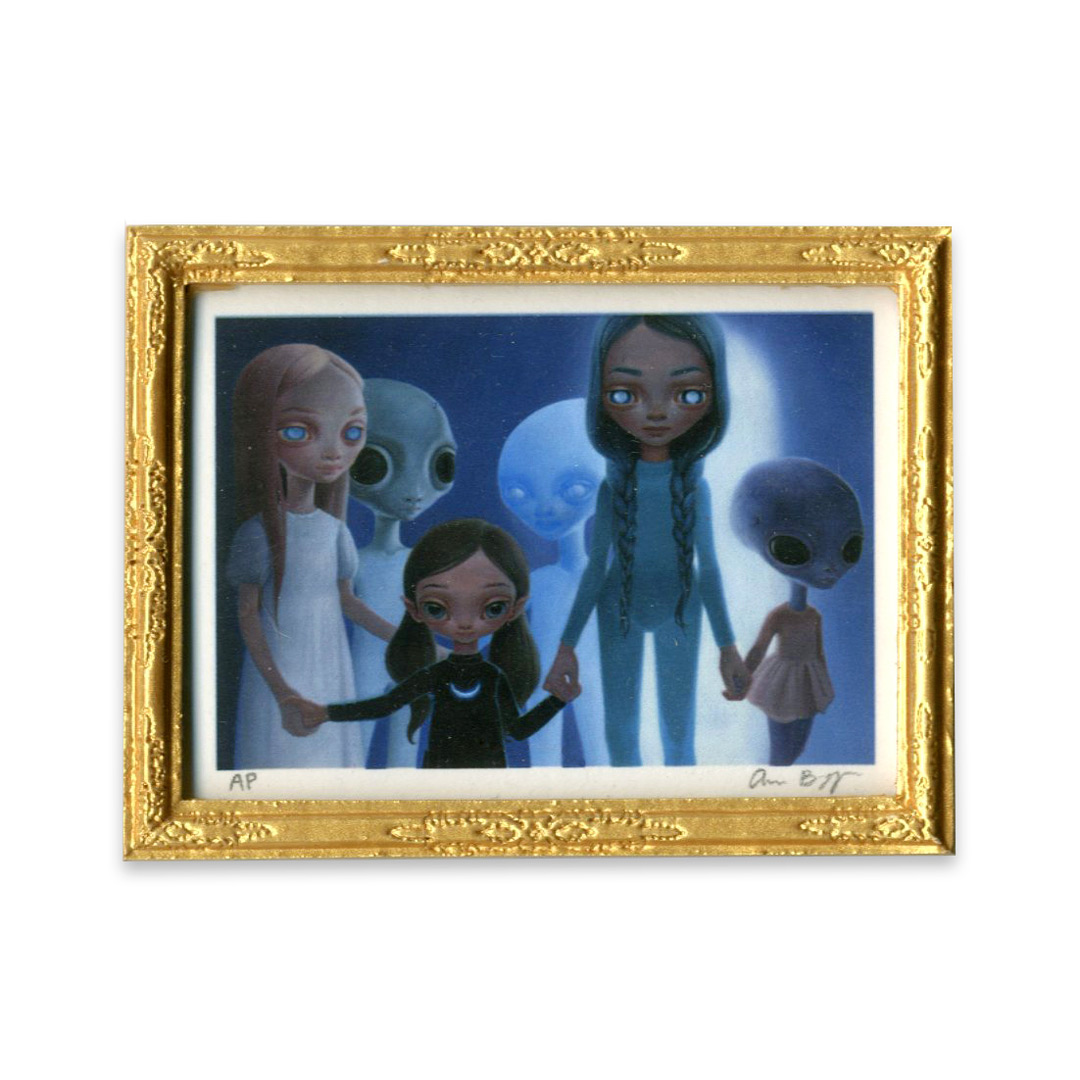 Ana Bagayan Art Print - Framed Limited Edition Mini-Print - Children Of The Sun