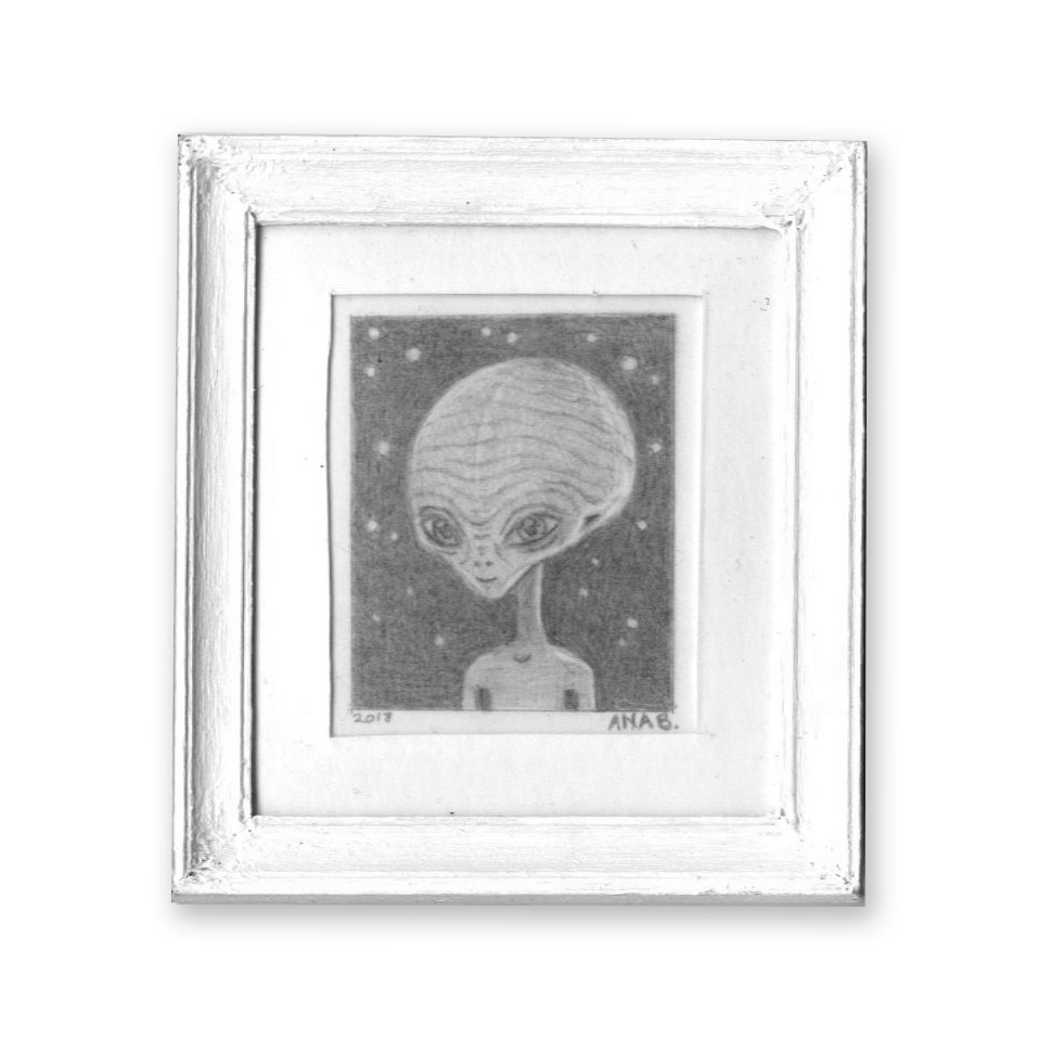 Ana Bagayan Original Art - Original Artwork - Alien