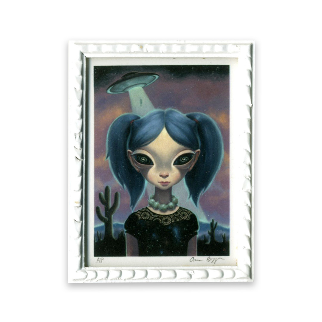 Ana Bagayan Art Print - Framed Limited Edition Mini-Print - Starchild