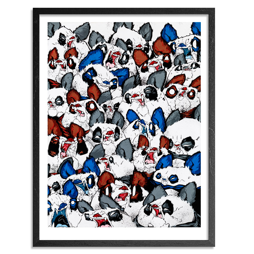 Woes Martin Art Print - Fangs And Furballs