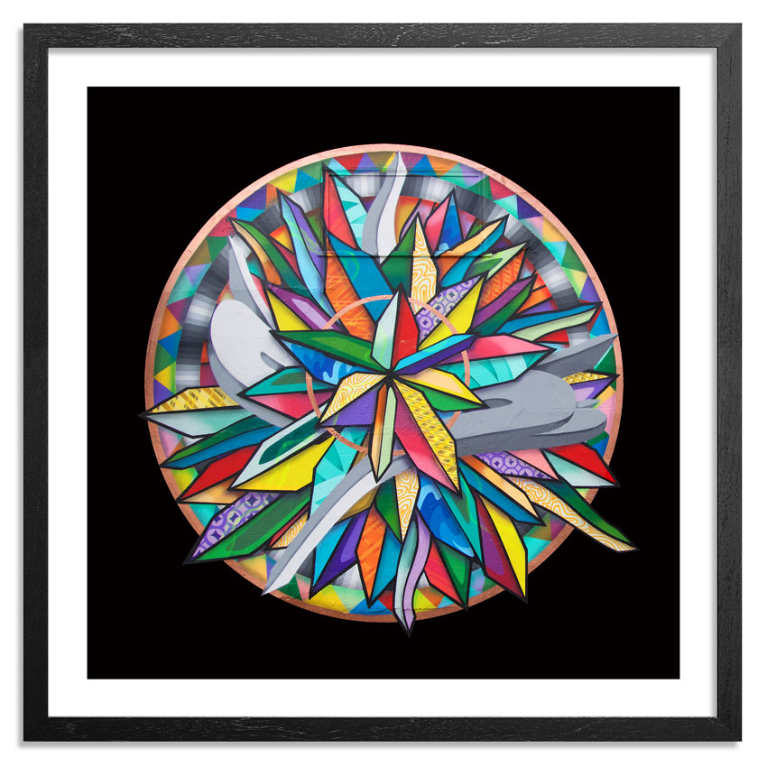 Apexer Art Print - Circle One - Framed