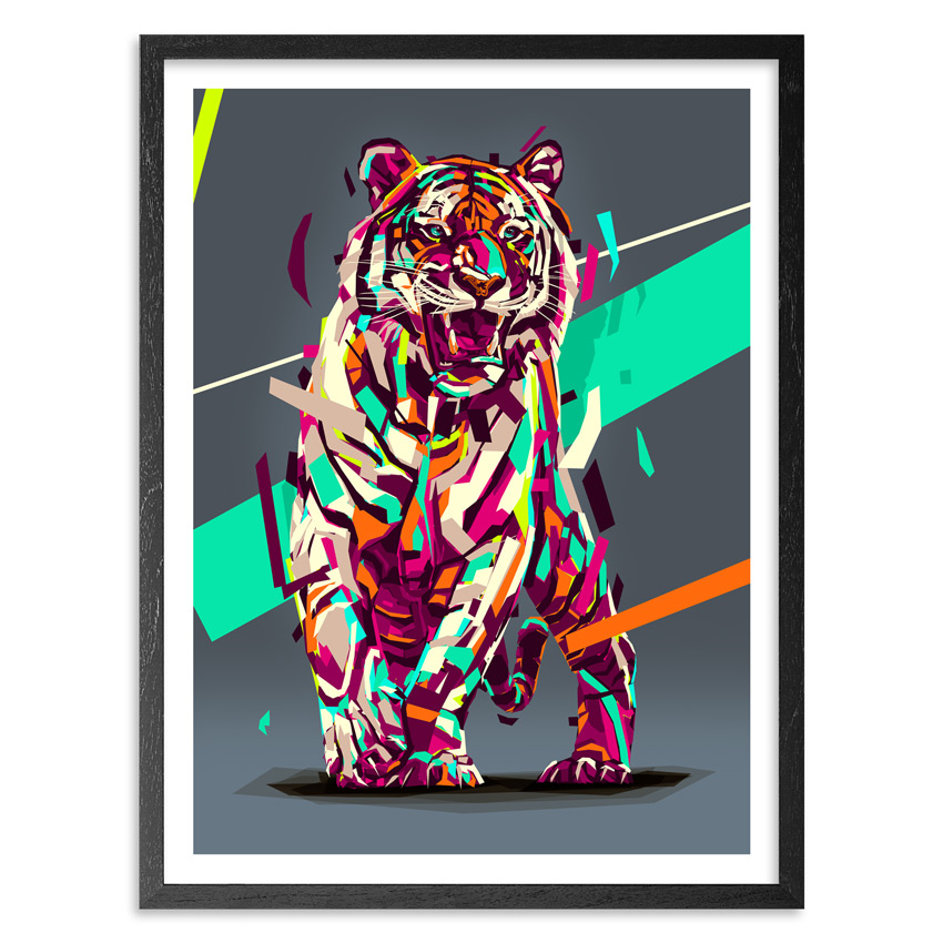 Arlin Art - Siberian Tiger - 27 x 36 Inch Edition