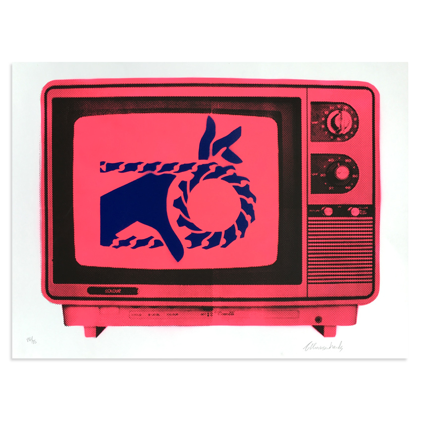 Armando Chainsawhands Art - Chainsawhands TV - Pink Variant