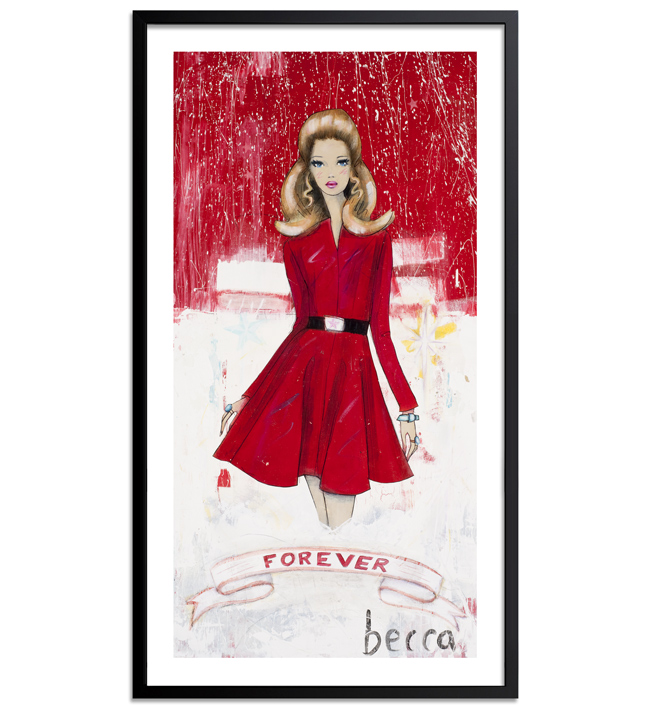Becca Midwood Art Print - Forever