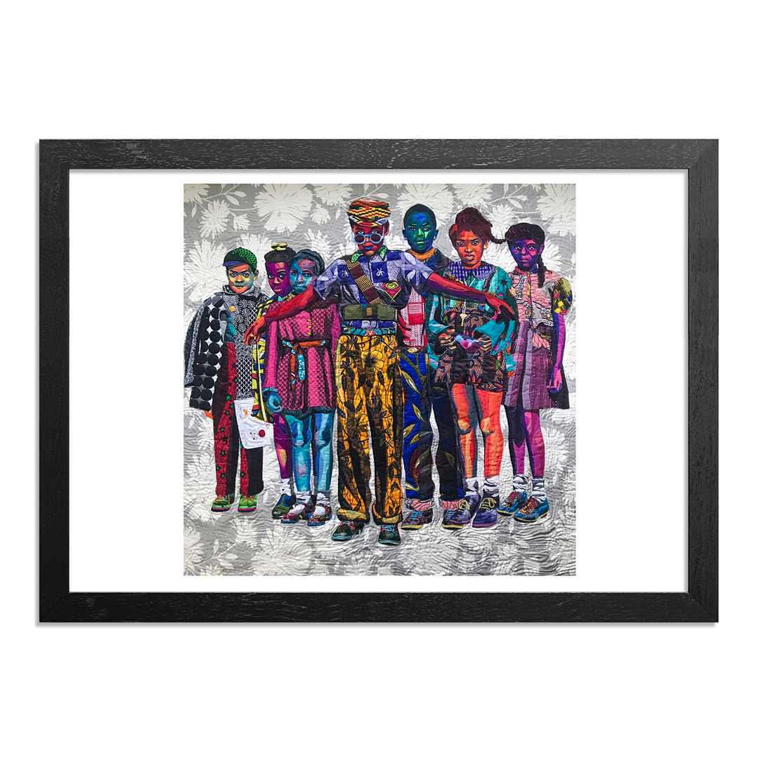 The Heliotrope Foundation Art Print - Bisa Butler - Safety Patrol