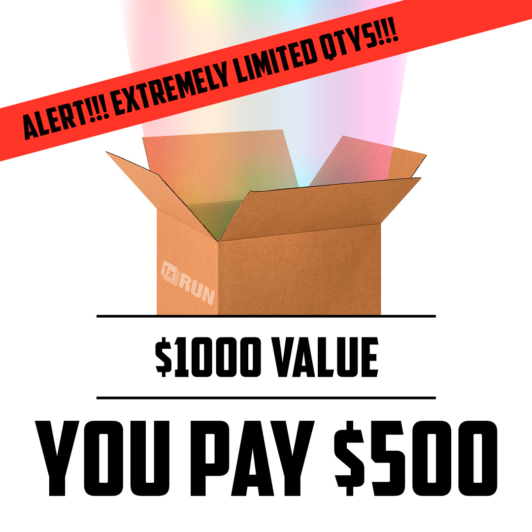 1xRUN Art - $500 Mystery Box - WORTH $1000!