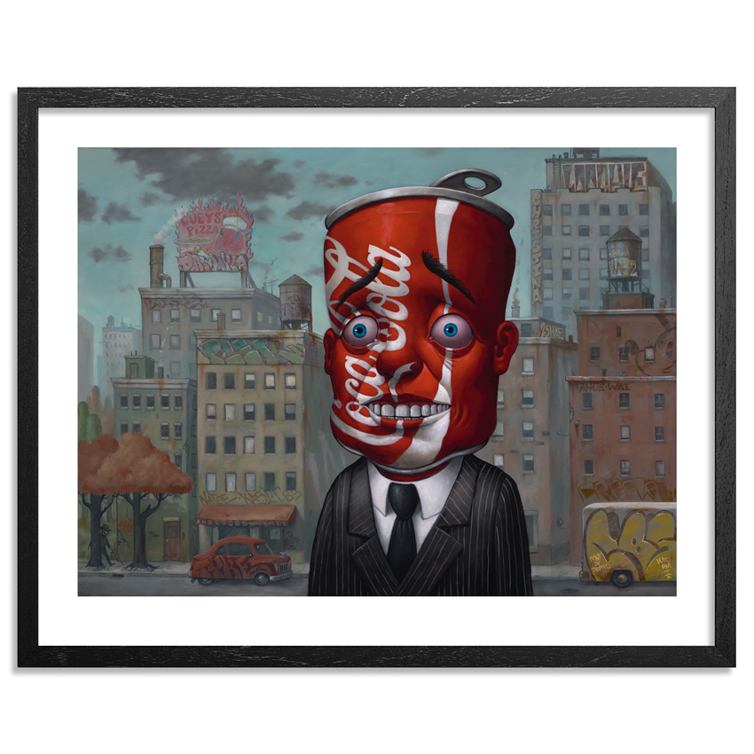 Bob Dob Art Print - Coke Head - Standard Edition