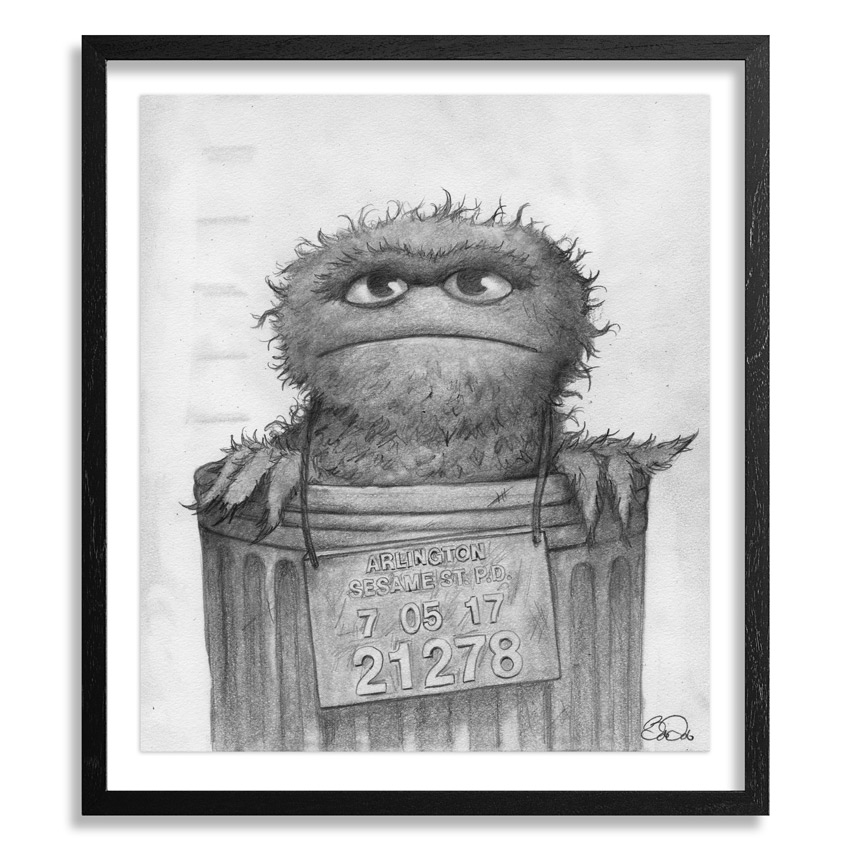 Bob Dob Original Art - Mug Shot Oscar