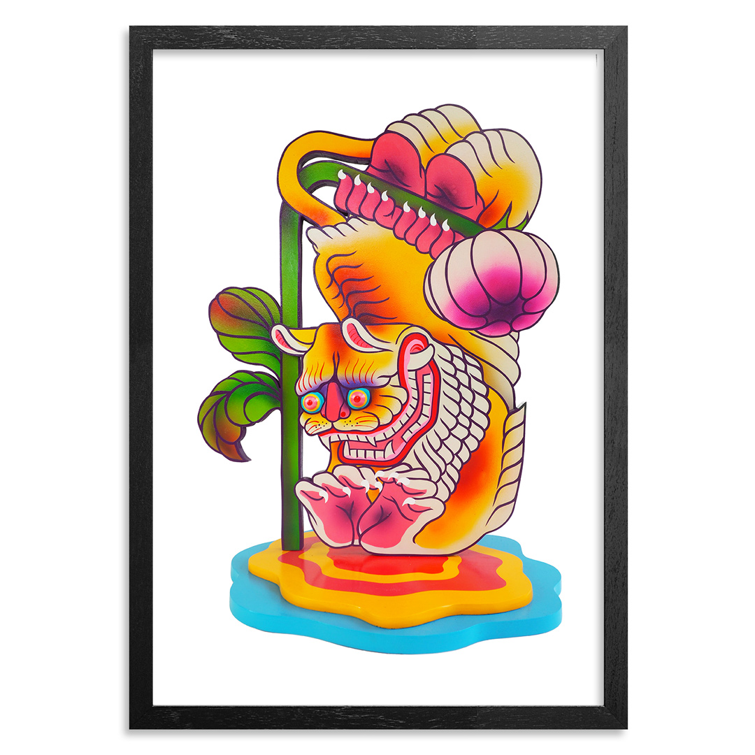 The Heliotrope Foundation Art Print - Boy Kong - Dear Dandelion