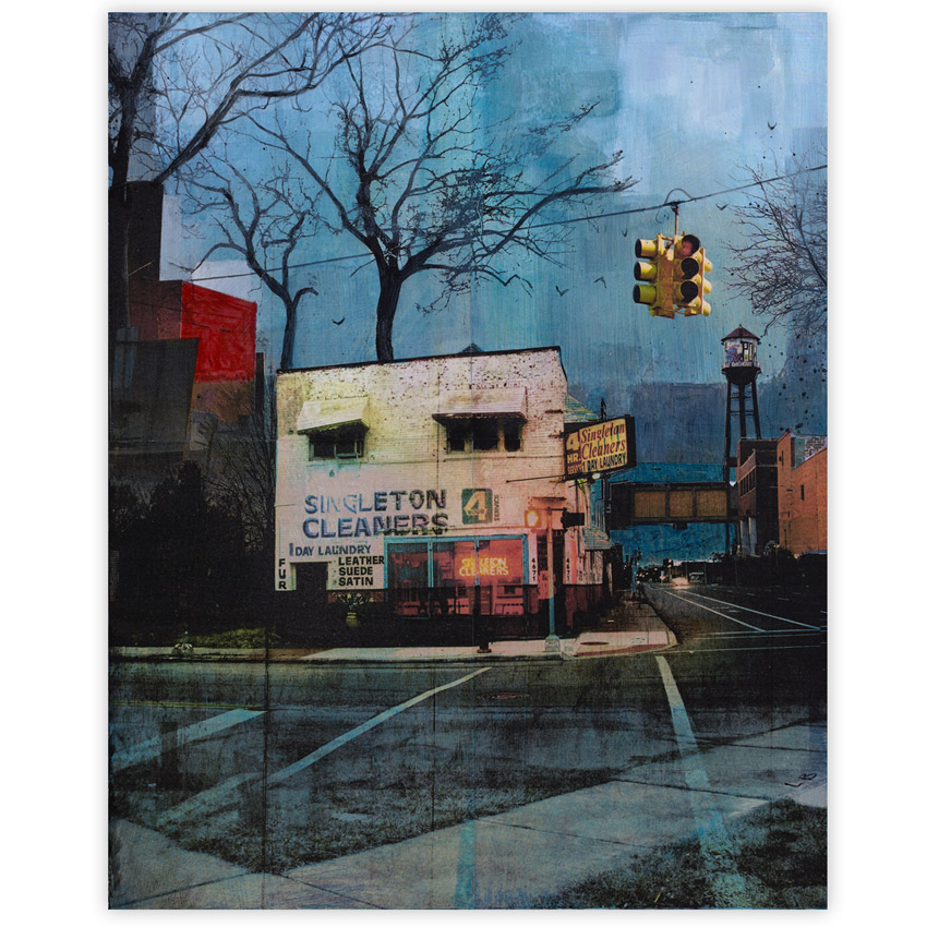 Liz Brizzi Art Print - - Singleton Cleaners - | 1xRUN