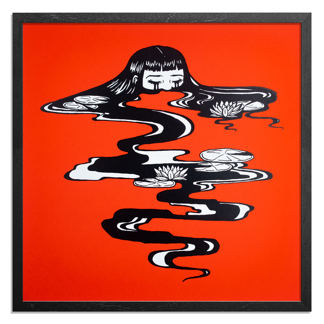 Caroline Caldwell Art Print - Sink Into It - Variant Edition