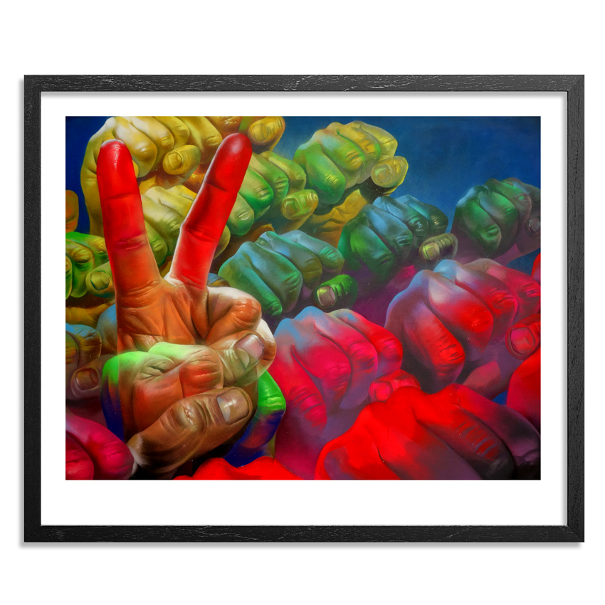 Case Maclaim Art Print - Power Of Movement - Framed