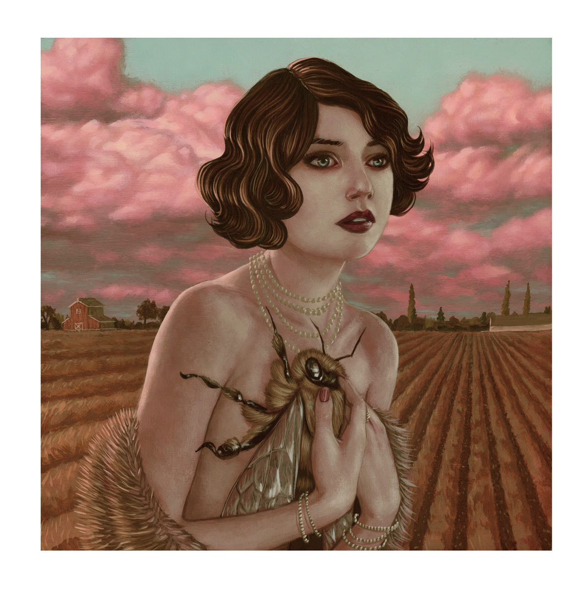 Casey Weldon Art Print - If You're Out There Getting The Honey...