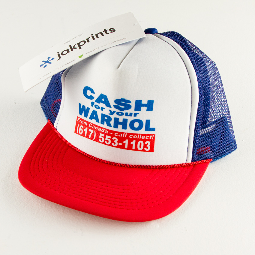 1xRUN Art - Cash For Your Warhol - Trucker Hat
