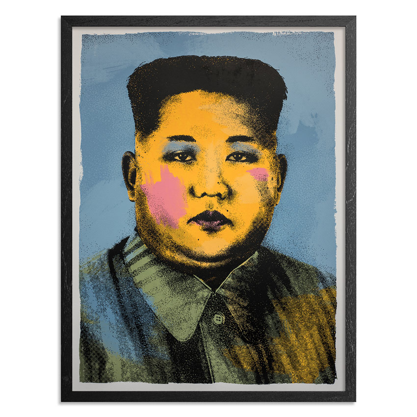 Cash For Your Warhol Art Print - CFYW Kim Jong-un - Limited Edition Prints