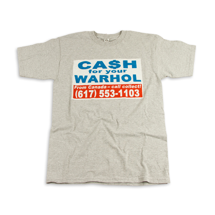 1xRUN Art - Large - Cash For Your Warhol T-Shirt