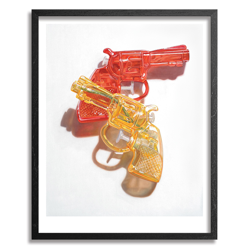 Chad Pierce Art Print - Red & Yellow - Standard Edition