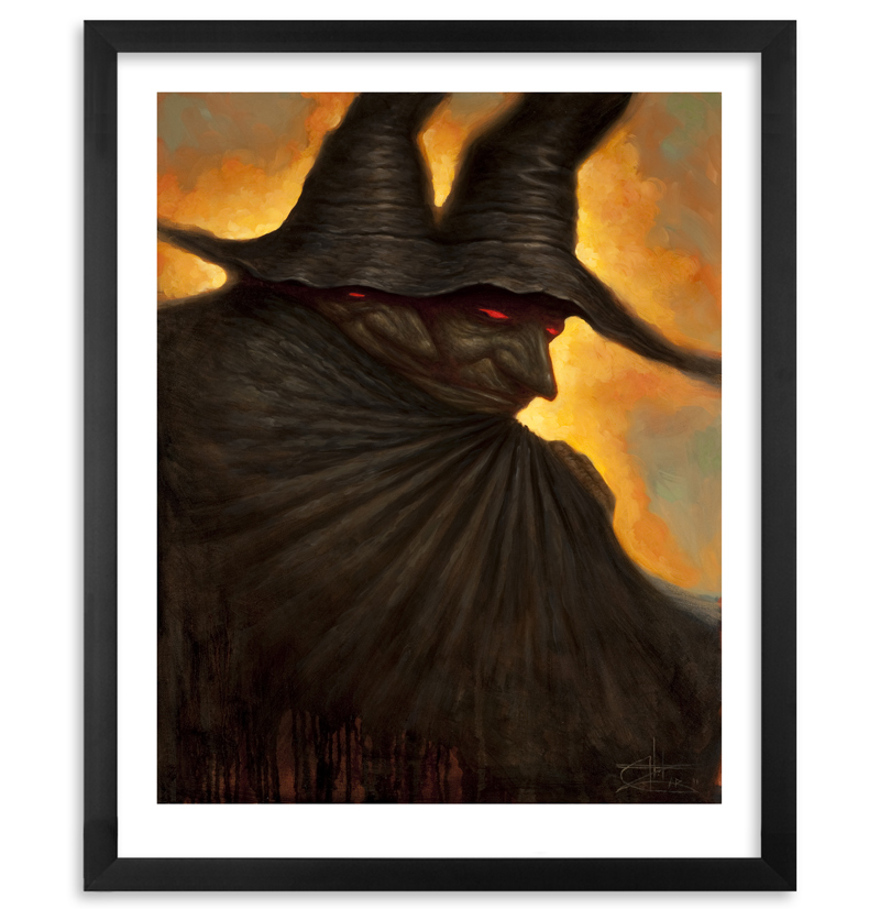 CHET ZAR MOURNER SIGNED NUMBERED LIMITED EDITION PRINT