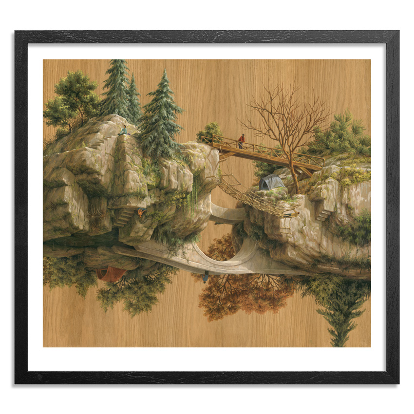 Cinta Vidal Art Print - Bridges