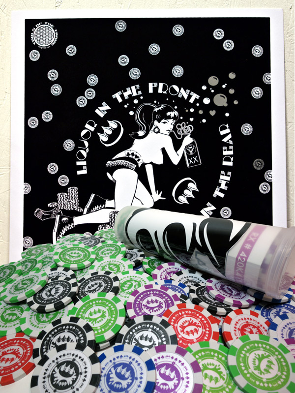 Claw Money Art Print - Poker In The Rear