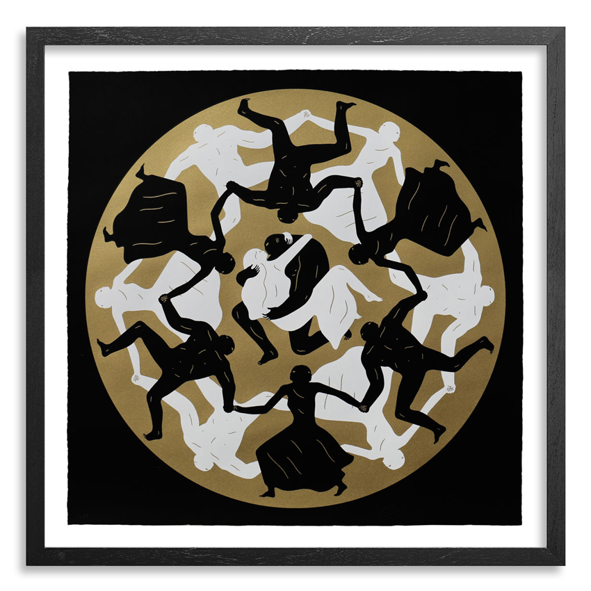 Cleon Peterson Art Print - Endless Sleep (Black)