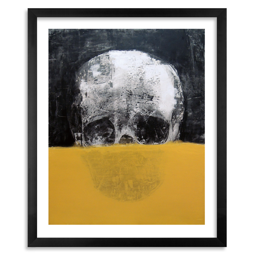 Colasa Art Print - Weight Of The Soul - Framed