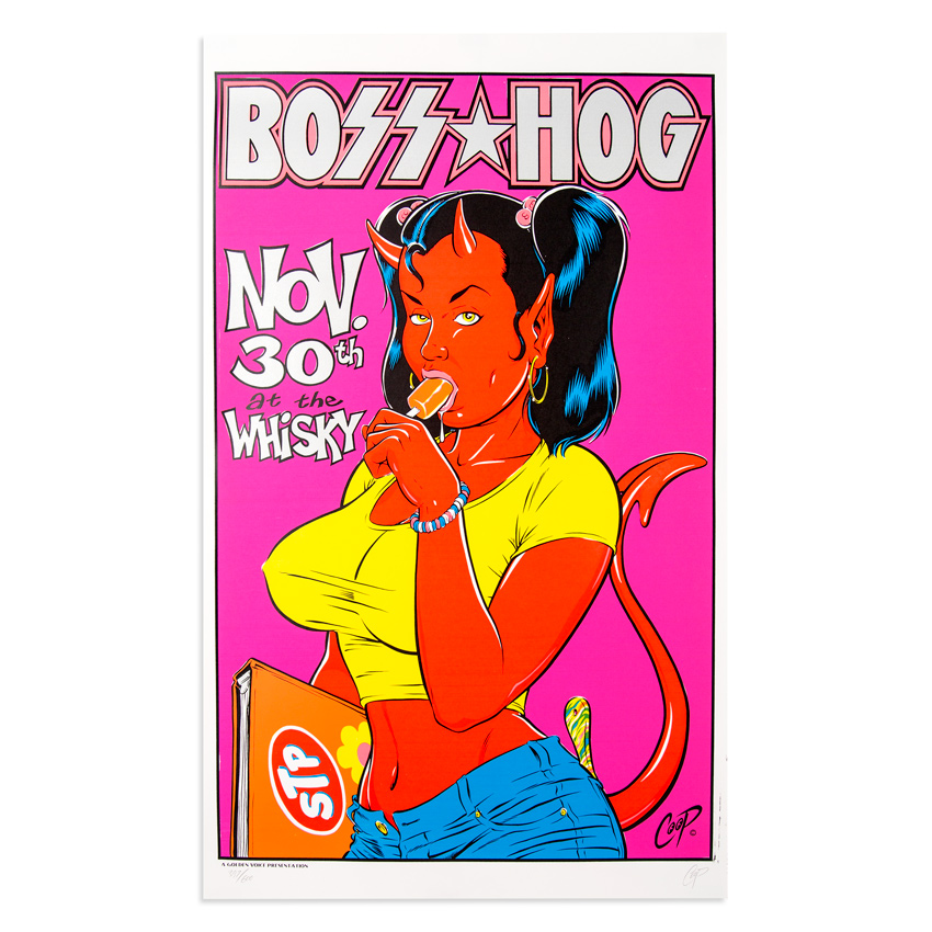 Coop Art - Boss Hog - Nov. 30th, 1995 at The Whiskey
