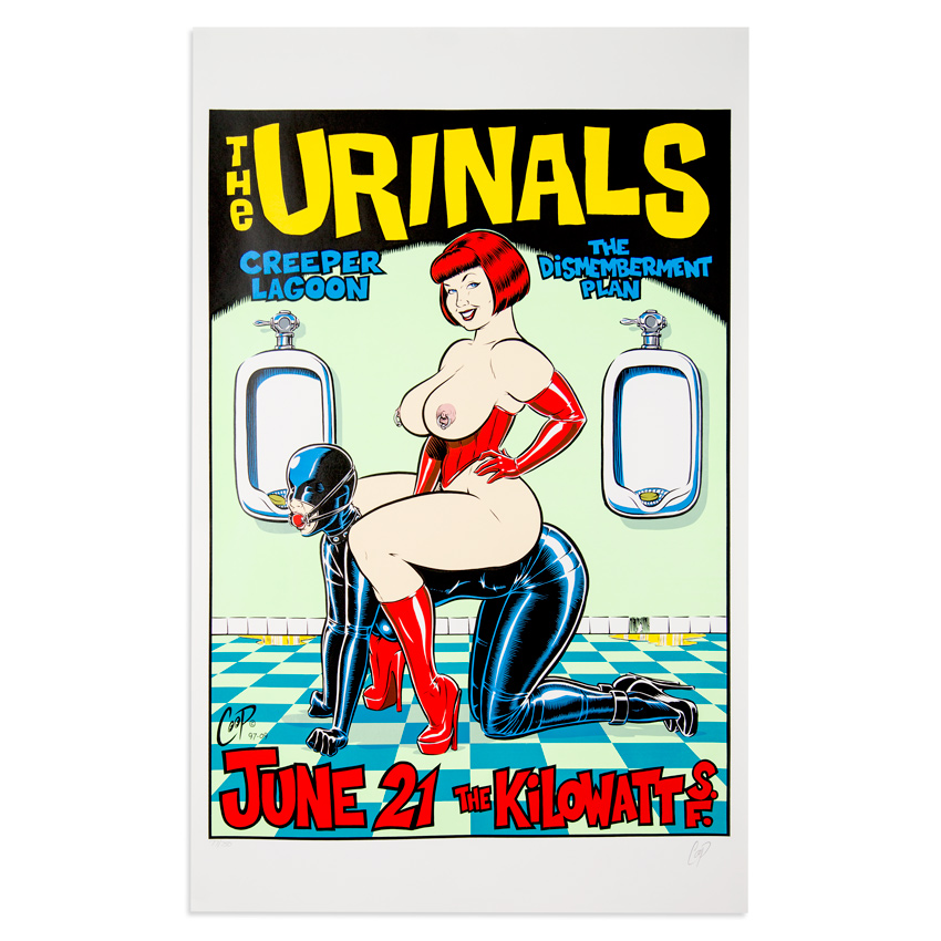 Coop Art - The Urinals - June 21st, 1997 at The Kilowatt