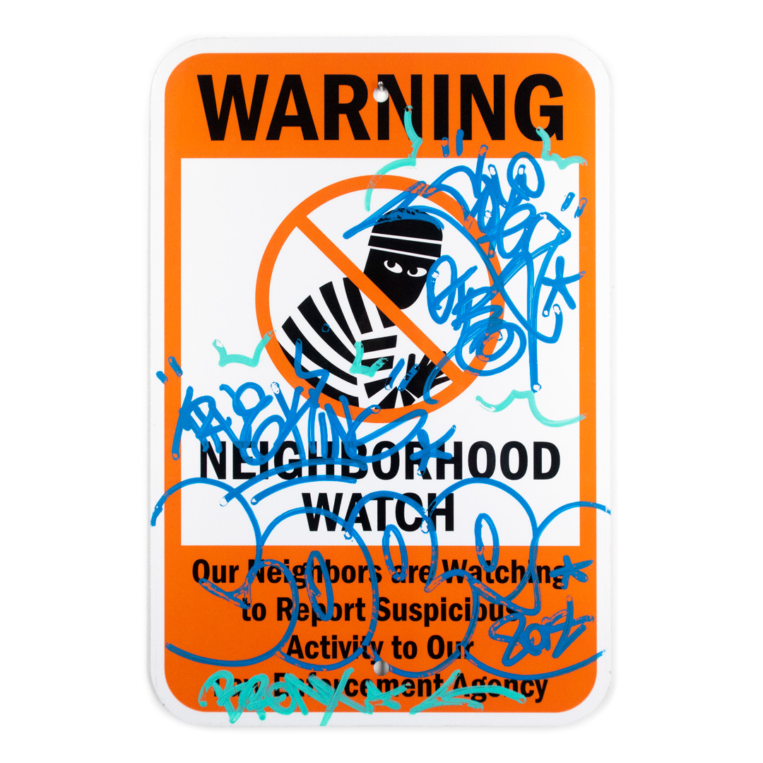 Cope2 Original Art - Neighborhood Watch - I